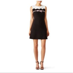 kate spade Dresses - Kate Spade Scallop Bow A-Line Dress